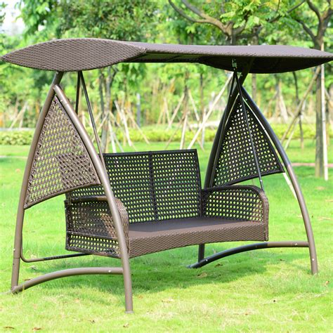 iron swings outdoor compare prices on iron garden swing online shopping buy