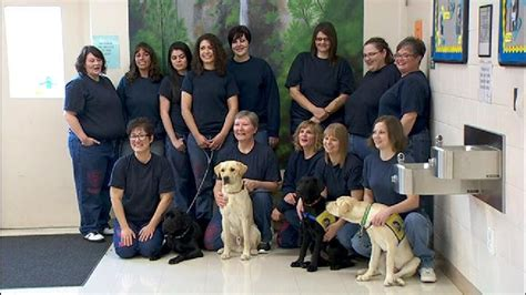 Prisoners train dogs to help those with disabilities   KATU