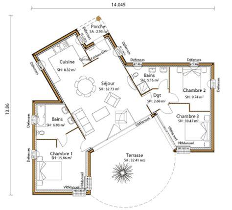 Plain Lumiere mod 232 le et plans lumiere du constructeur pca maisons