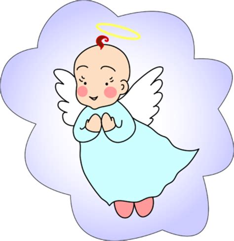 Angel Babies Clip Art | baby boy angel pictures clipart best