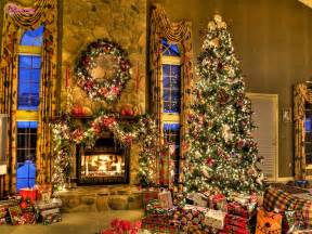 Home Decorated Christmas Trees The Biggest Poetry And Wishes Website Of The World