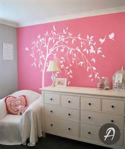 willow tree decal large tree decal white tree decal decoration temporary wall stickers for modern theme