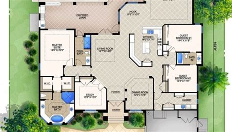 u shaped house plans with pool in middle luxury home plans with pools design pool kevrandoz luxamcc