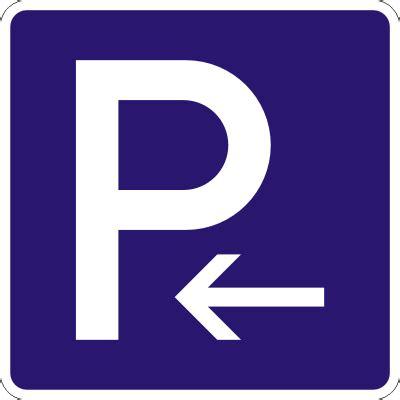Aufkleber Links by Parkplatz Aufkleber Links