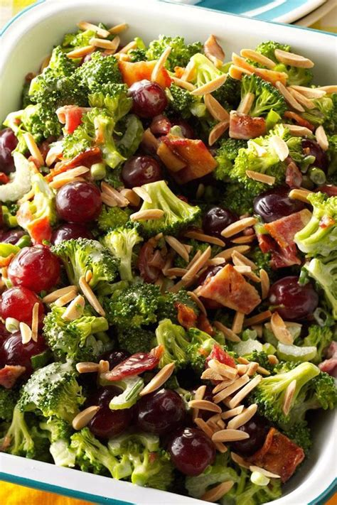 broccoli salads salads and taste of home on