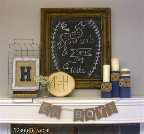 rustic baby boy shower 52 mantels rustic shower for a baby boy