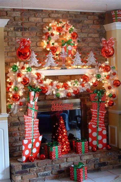 christmas themes ideas 35 beautiful mantels style estate