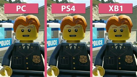 Lego City Undercover Xbox One lego city undercover pc vs ps4 vs xbox one graphics