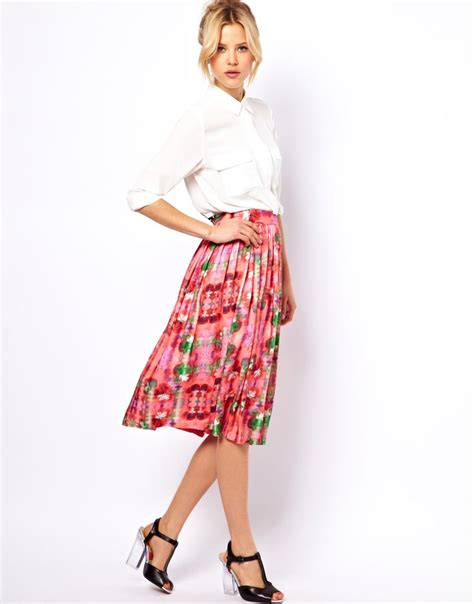 17 best images about midi skirts on flats