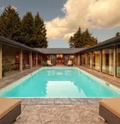 house plans with courtyard pools 6 best ideas for u shaped home design youramazingplaces