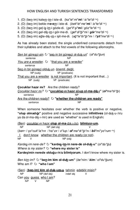 sentence pattern s lv c exles how english and turkish simple sentences are transformed