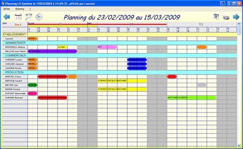 Calendrier Personnel Modele Planning Presence Personnel Ccmr