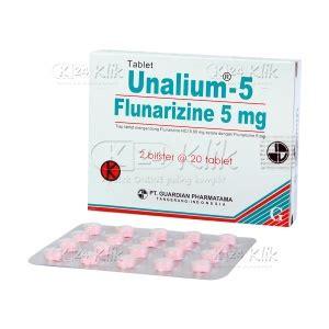 Obat Flunarizine jual beli unalium 5mg tab k24klik