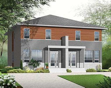 narrow lot multi family house plans narrow lot multi family home plan 22327dr 2nd floor master suite cad available canadian
