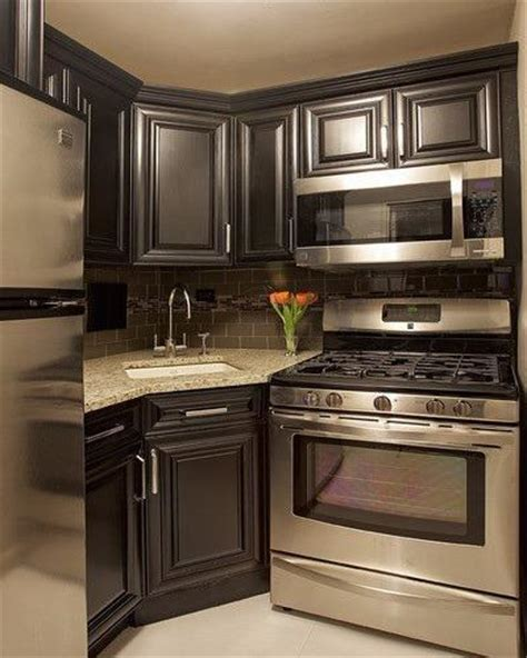 15 Modern Small Kitchen Design Ideas For Tiny Spaces Small Kitchen Cabinets Design Ideas