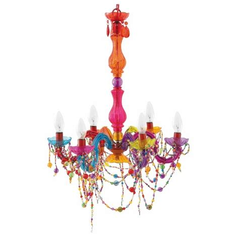 multi colored chandelier funky multi colored chandelier house and home