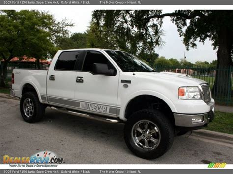 2005 Ford F150 Lariat by 2005 Ford F150 Lariat Supercrew 4x4 Oxford White Black