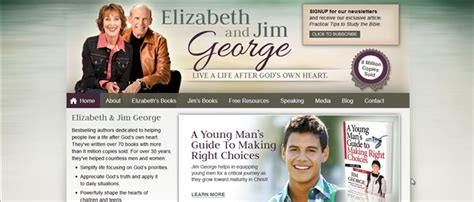 What Makes A Author Website what makes a christian author website 13 exles of