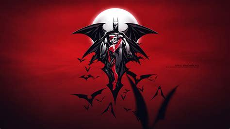 red batman wallpaper wallpapers quality