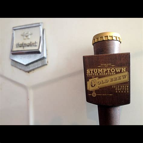 Shelf Of Brewed Coffee by Pdx Top Shelf Cold Brew At Stumptown