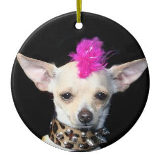 chihuahua decorations chihuahua tree decorations baubles zazzle co uk