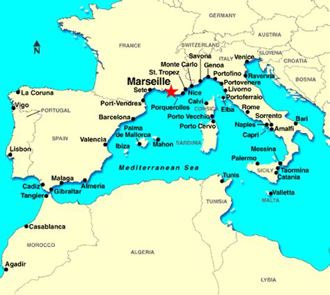 map of marseille detailed port information for marseille