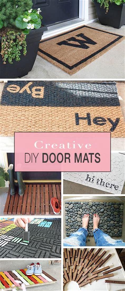 Creative Door Mats Creative Door Mats You Can Make Yourself Lots Of Great