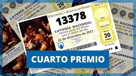 cuarto premio loteria navidad 13378 un cuarto premio que cae casi de manera 237 ntegra en