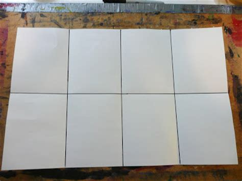 How To Fold A Paper Into 6 Boxes - that artist how to make a tunnel book