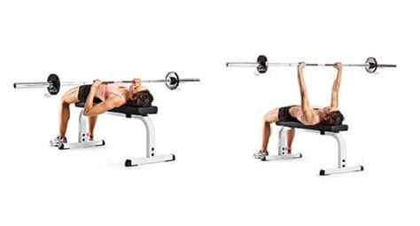 women bench pressing strength training 8 exercises for a tight and toned upper body myprotein