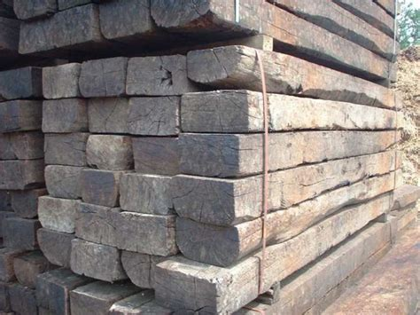 used grade 1 oak railway sleepers railwaysleepers
