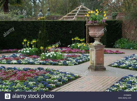 plants for formal gardens colourful bedding plants in a formal garden at rhs wisley