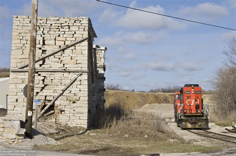 Cp L509 railroad photos by mike yuhas wisconsin 4 13 2008