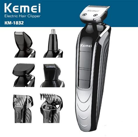 Sale Portable Professional Kemei 5in1 Waterproof Hair Clipper Razor aliexpress buy professional waterproof 5 in 1 rechargeable electric hair clipper trimmer