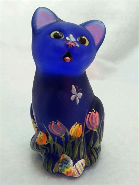 Mini Ransel Cat Anf Butterfly Lucu 17 best images about cats glass fenton on kittens glasses and painted