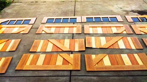 Garage Door Skins by Give Your Boring Garage Door A Makeover With These Wooden
