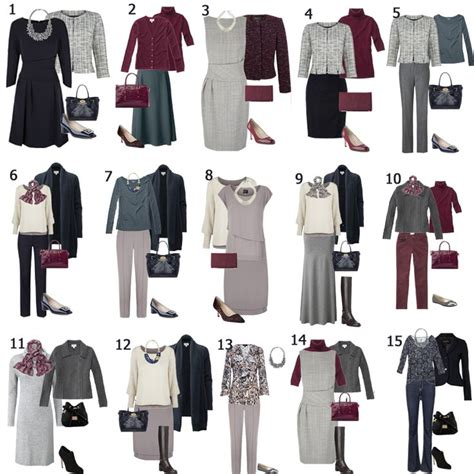 Business Casual Wardrobe by How To Build A Capsule Wardrobe 2015 One