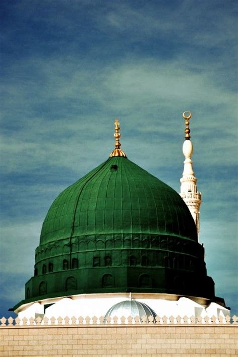 Madina Green the iconic green dome of the prophet s mosque madinah