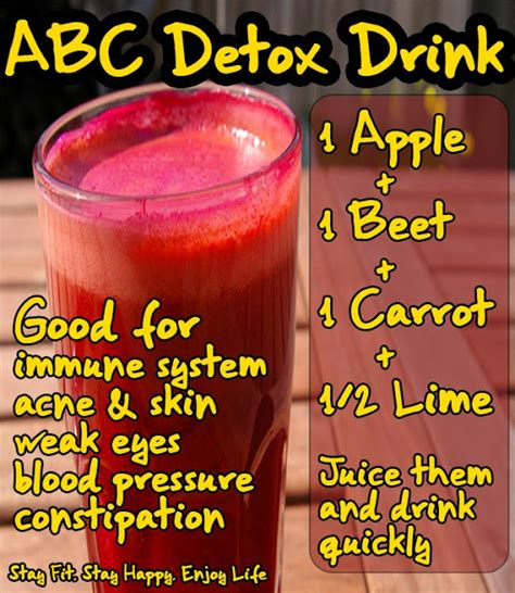 Detox Drinks For Your Skin by The Wealth Of Health Abc Detox Drink