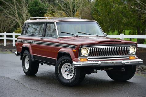 jeep chief for sale no reserve 1977 jeep cherokee chief s for sale on bat