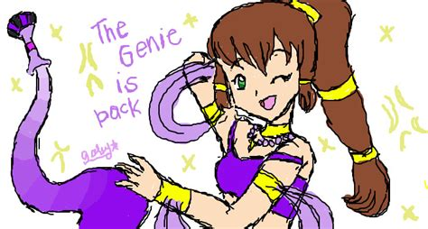 Gwenie Is Back by Oc The Genie Is Back By Spiderboy1 On Deviantart
