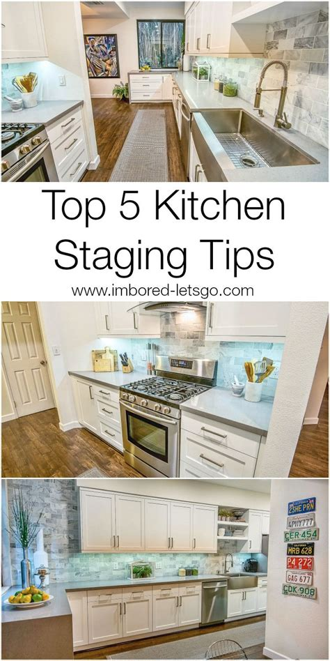 top  tips  staging  kitchen  sell   blog