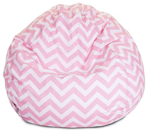 Pink Bean Bag Chairs by Indoor Chevron Beanbag Baby Pink Bean