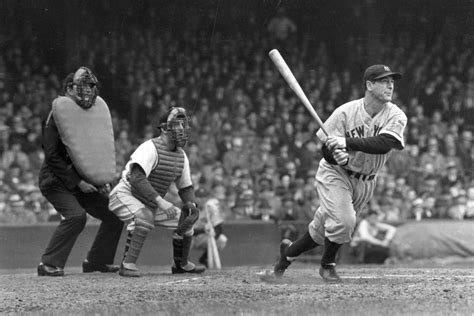 lou gehrig swing did lou gehrig actually die of lou gehrig s disease