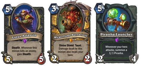 Hearthstone Gift Card - the mean streets of gadgetzan are home to incredible new hearthstone cards