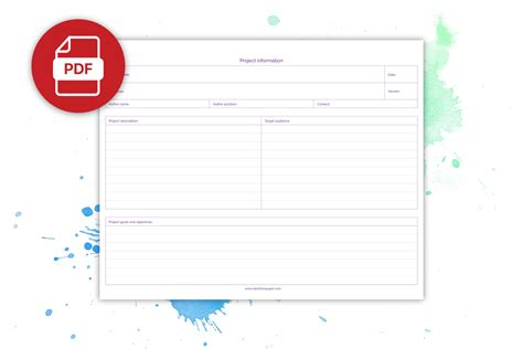 project planners special request project planner circa