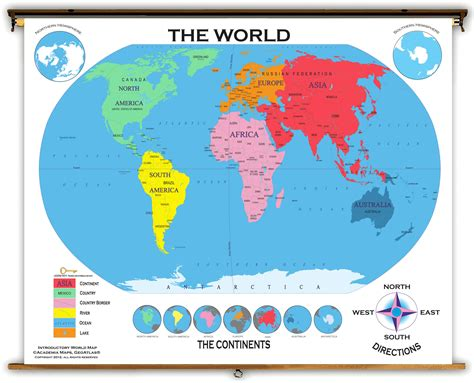 world map key cities world starter classroom map from academia maps