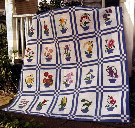 The Memory Quilt by The Memory Bouquet Quilt By Debbykratovilquilts Quilting