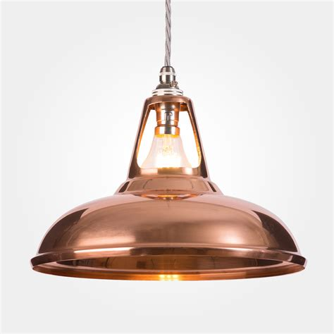 Copper Pendant Lights Coolicon Industrial Copper Pendant Light