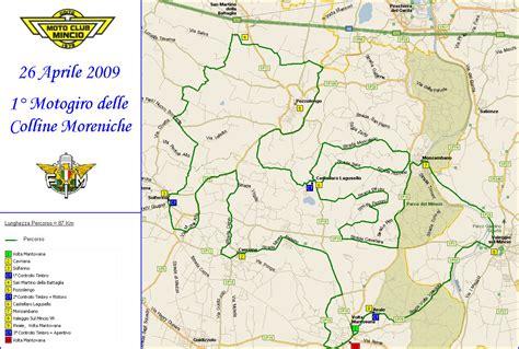 mappa volta mantovana 26 04 09 1 176 motogiro delle colline moreniche mantovane